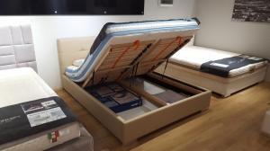 Grotelės + patal dėžė